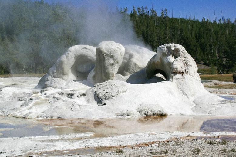 Yellowstone, Old Faithful Area