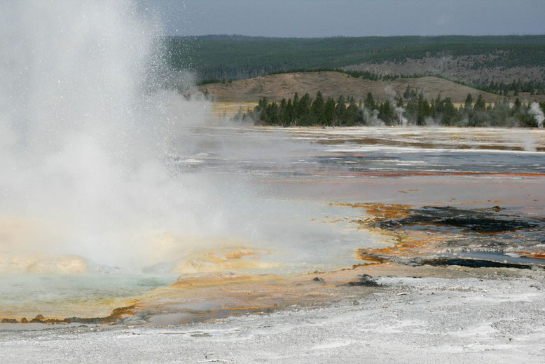 Yellowstone, Lower Geyser Basin
