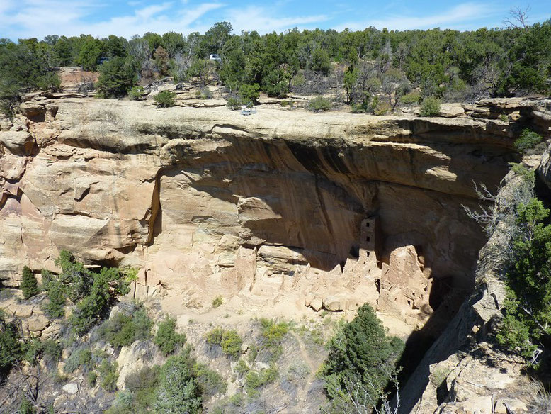 Mesa Verde NP, Square Tower House