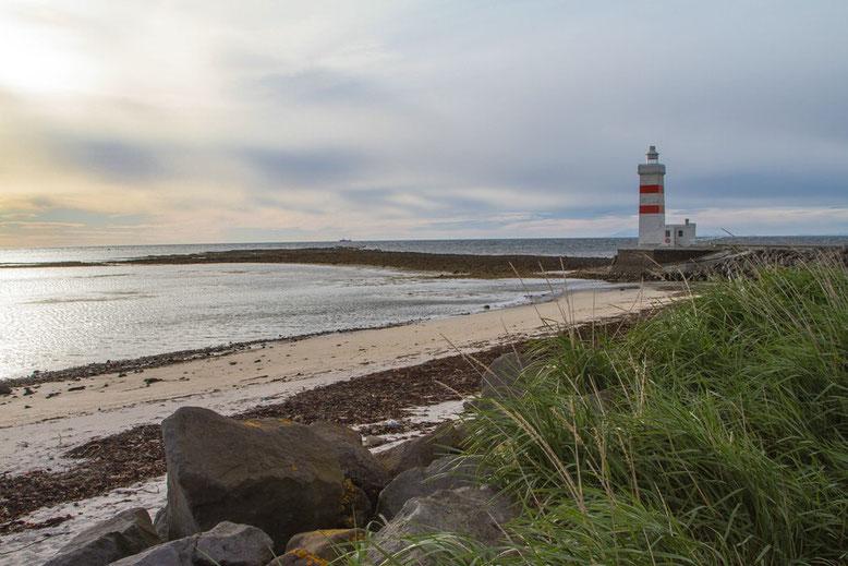 Lighthouse Garður, erbaut 1897