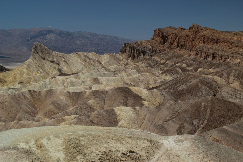 Zabriskie Point ins Death Valley