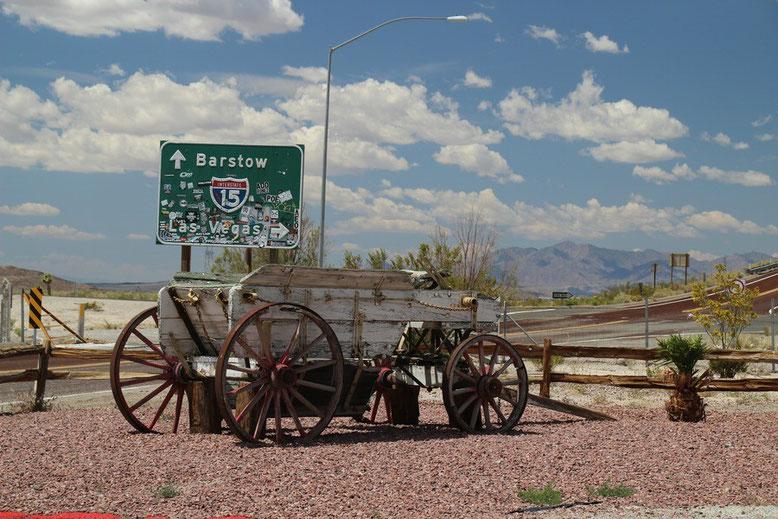 Kurz vor der Auffahrt zur IS 15 Richtung Las Vegas