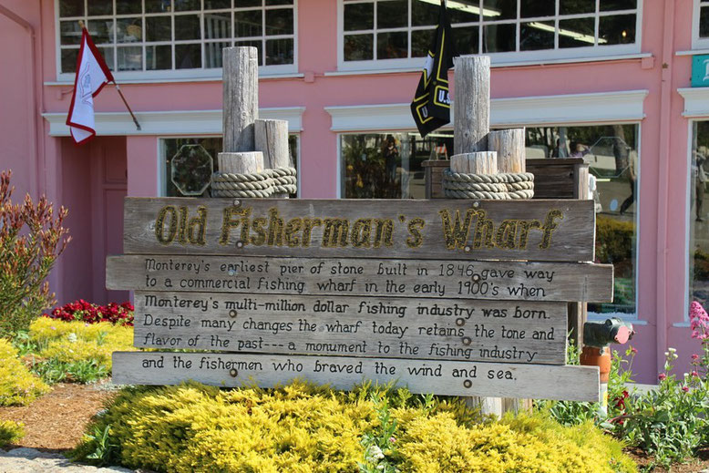Monterey, Old Fishermans Wharf