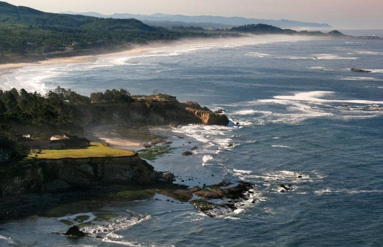 ...die wunderschöne Küste Oregons