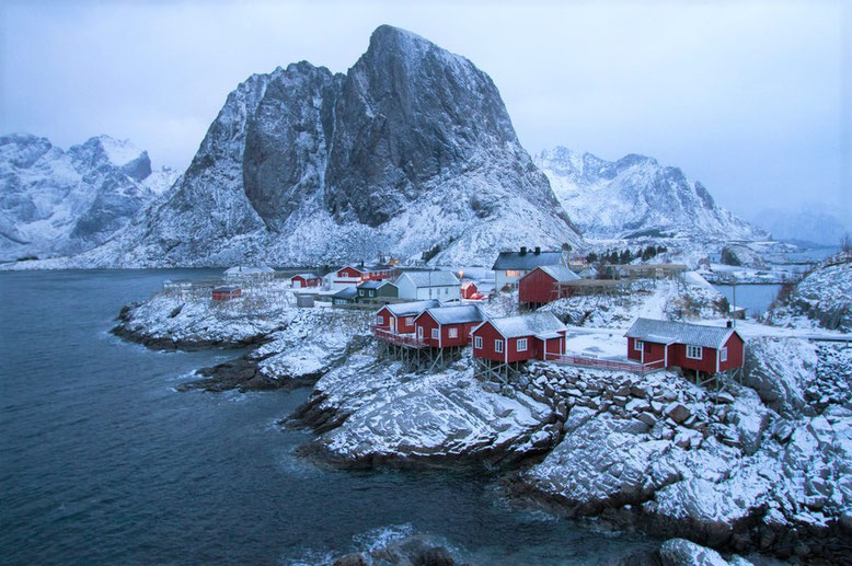 Hamnoy, Norwegen