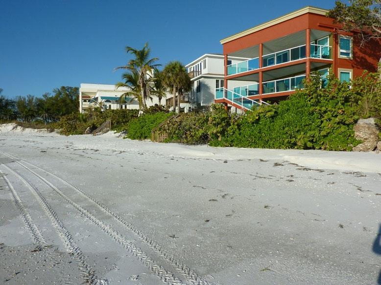 Strand an der Spitze Anna Maria Island