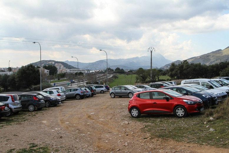 Parkplatz Wanderung Vall de Bóquer