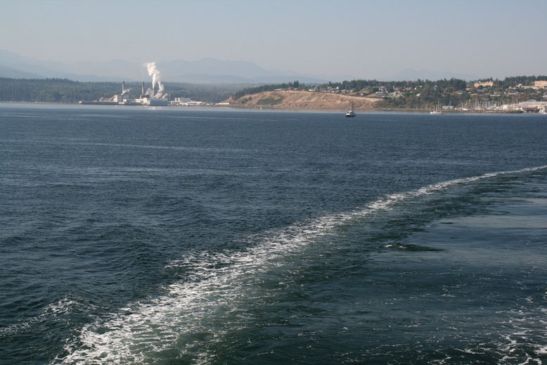 Ferry von Port Townsend nach Keystone