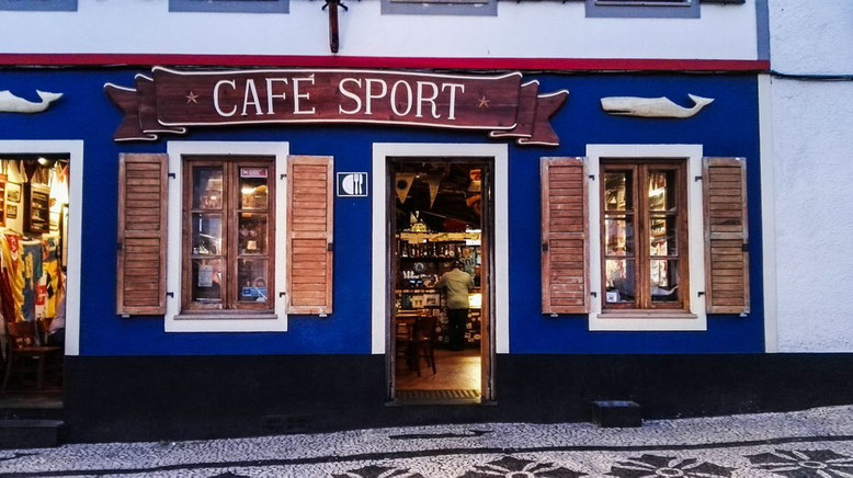 Cafe Peter Sport, Faial