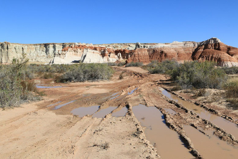 Zufahrt Blue Canyon