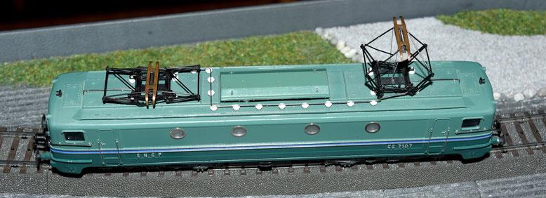 Aber die CC 7101 wurde von Märklin nie gebaut ! - But, the CC 7101 was never produced by Märklin !
