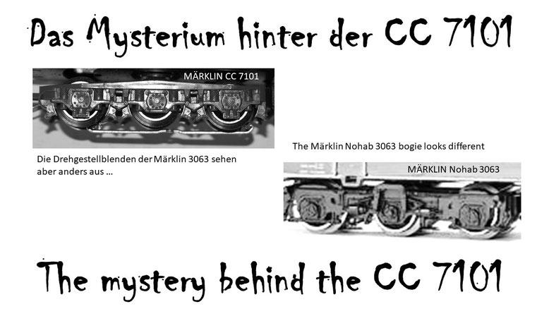 Des Rätsels Lösung, Teil 3. Welcher 6-Achsenantrieb hat Märklin? - The puzzle solution, part 3. Which 6-axle drive has Märklin?