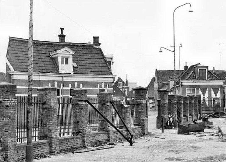 Veemarktstraat ter hoogte van de Houtzagerstraat foto 1968