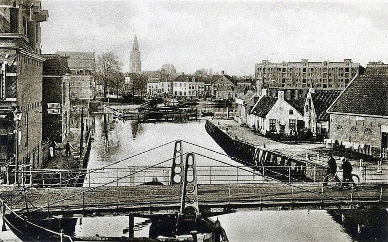Bontebrug foto is gemaakt tussen 1925 en 1930