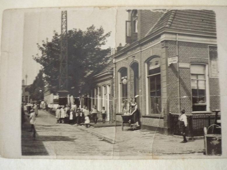 Café Dijkman oliemulderstraat 1930