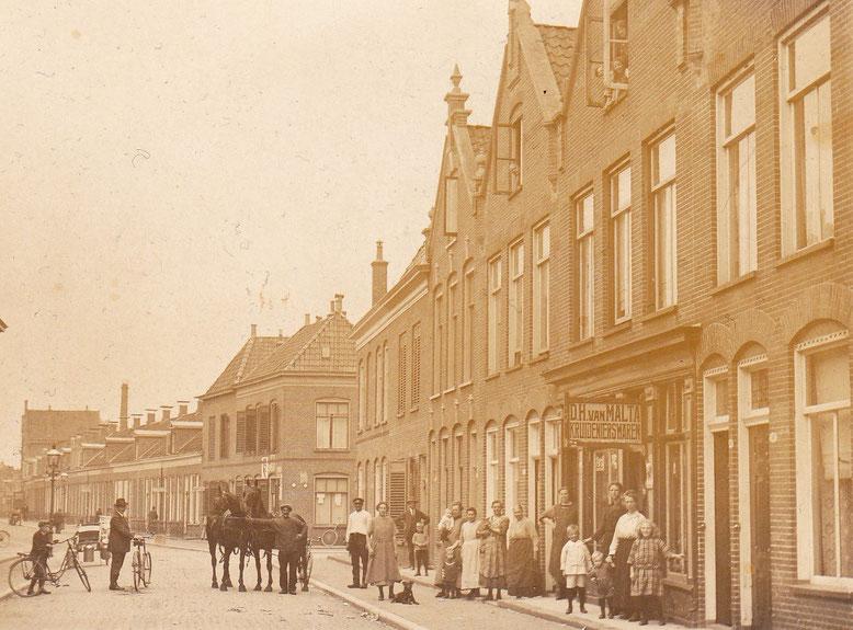 Van Julsinghastraat beginjaren 1920