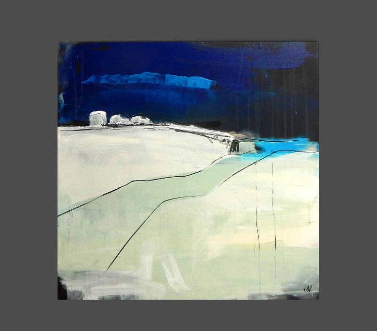 blaues abstraktes Laut