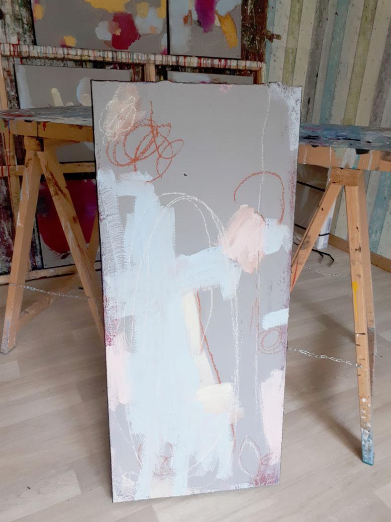 "Bild Pastellfarben - ""Mütter"""