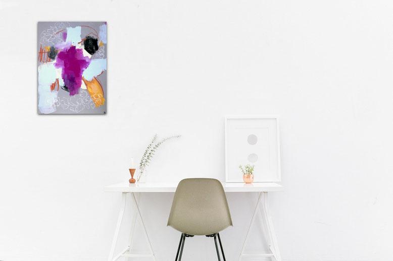 Friedliches Leben I 50 x 40 cm