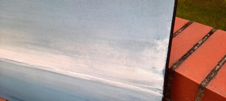 Bild im detail -schwarzer Keilrahmen