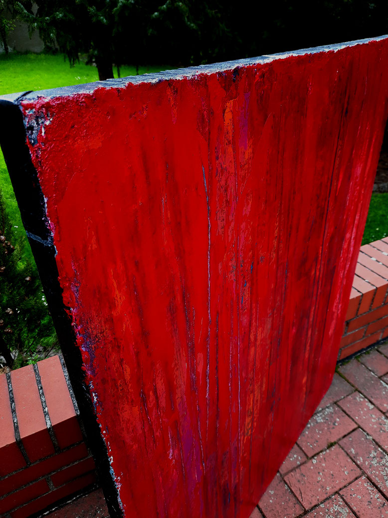 rote abstrakte Bilder Struktur
