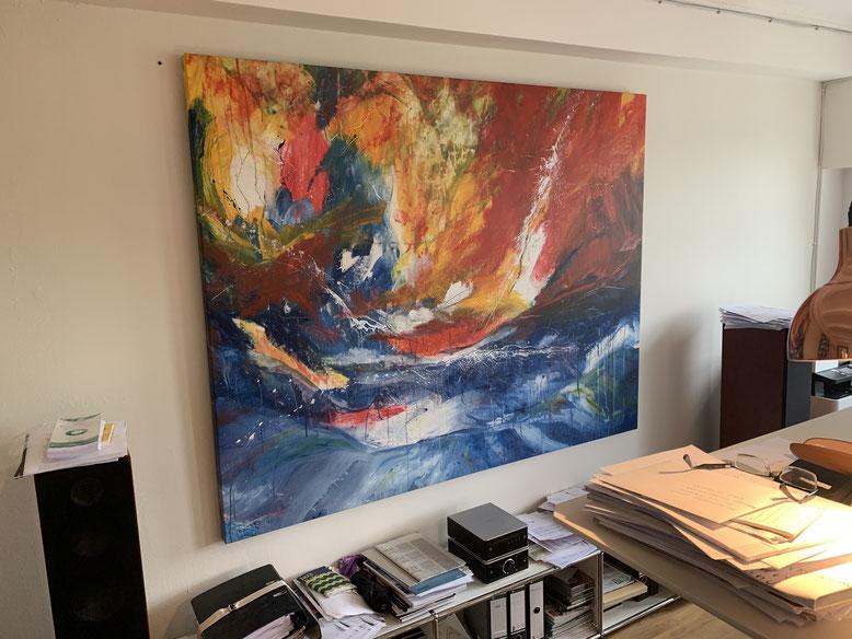 Gemälde bunt