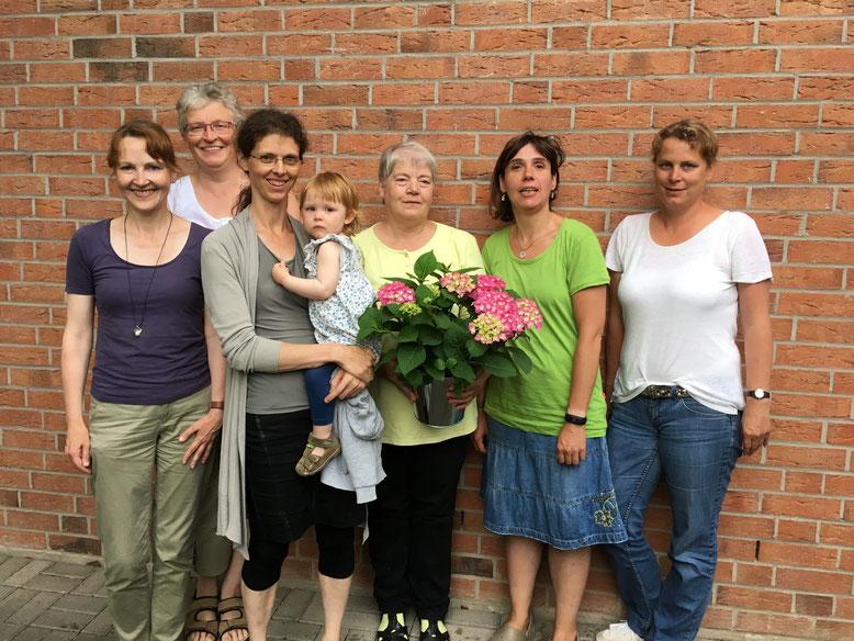 von links: Ute-Simshäuser-Höhl, Birgit Blum-Stolle, Tanja Heimermann, Doris Koch, Natascha Ludwig, Katja Möller (es fehlt Kathrin Schäfer)