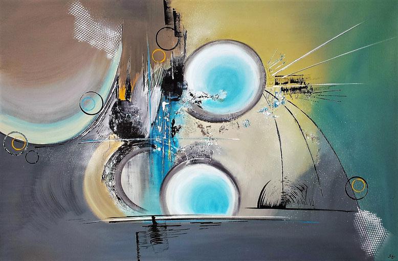 Strange worlds 120 x 80cm Acryl auf Leinwand - Preis auf Anfrage -