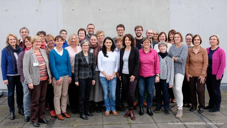 Gruppenbild von der letzten Sitzung der AG RDA (Foto: DNB, Stephan Jockel)
