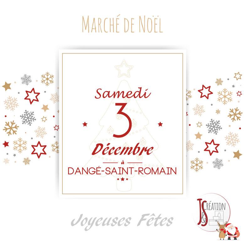 Marché de Noël Dangé-St-Romain le Samedi 3 décembre 2016