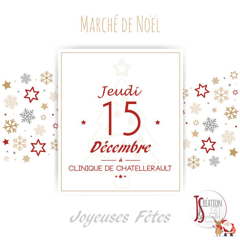 Vente à la Clinique de Châtellerault Jeudi 15 Décembre 2016