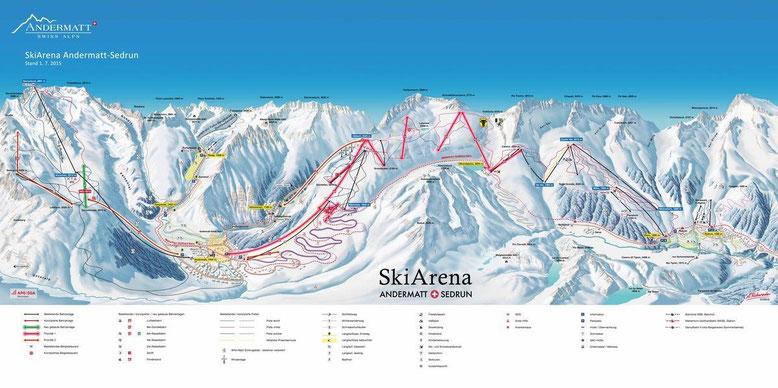 Masterplan Skiarena Andermatt - Sedrun