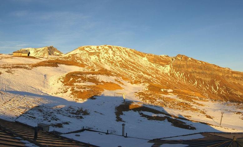 Wenig Schnee in den Skigebieten