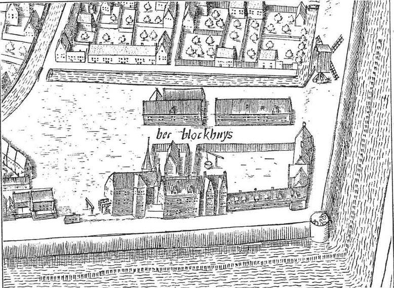 Blokhuis Leeuwarden 1603