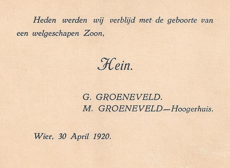Hein Groeneveld