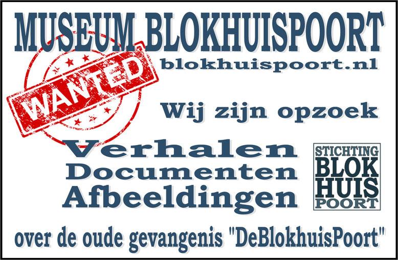 Wanted blokhuispoort