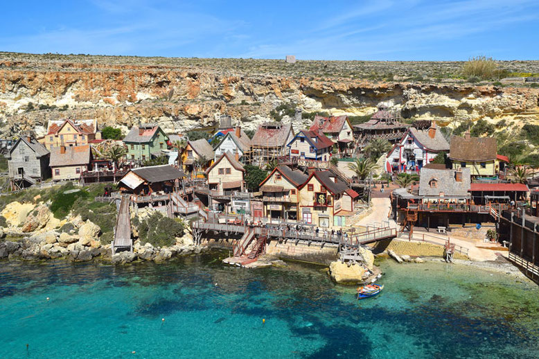 3 Days in Malta - Winter Break - Popeye Village