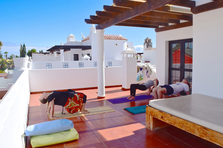 Surf Camp Fuerteventura - Yoga at Our Stay