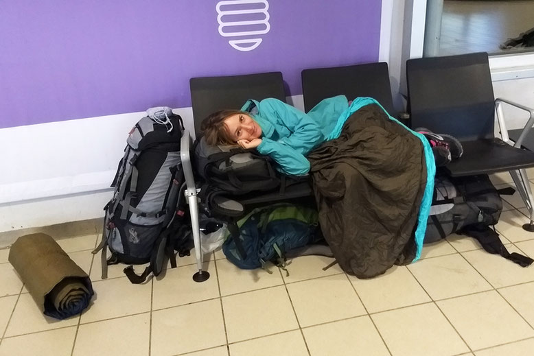 From Tromso to the Lofoten Islands - Sleeping at Tromso Airport