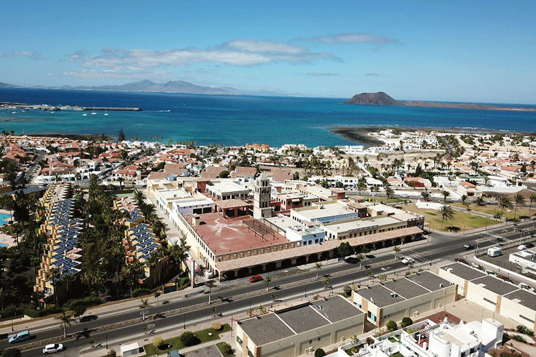 7 Days in Fuerteventura - Corralejo (Drone Pic)