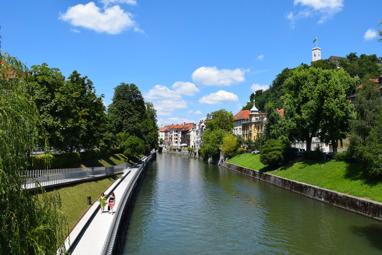7 Tage in Slowenien, Reiseplan - Ljubljana