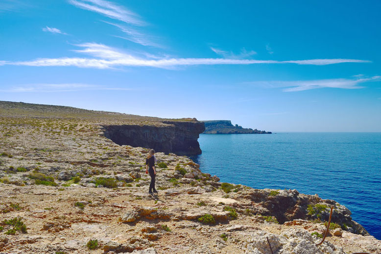 3 Days in Malta - Winter Break - Cliffs near the Popeye Village