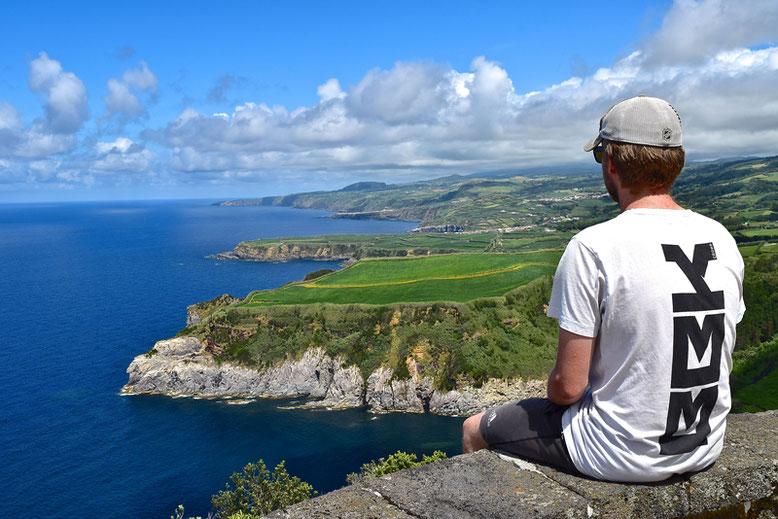 """Azores, Sao Miguel: 7-Day Itinerary - Viewpoint """"Miradouro de Santa Iria"""""""