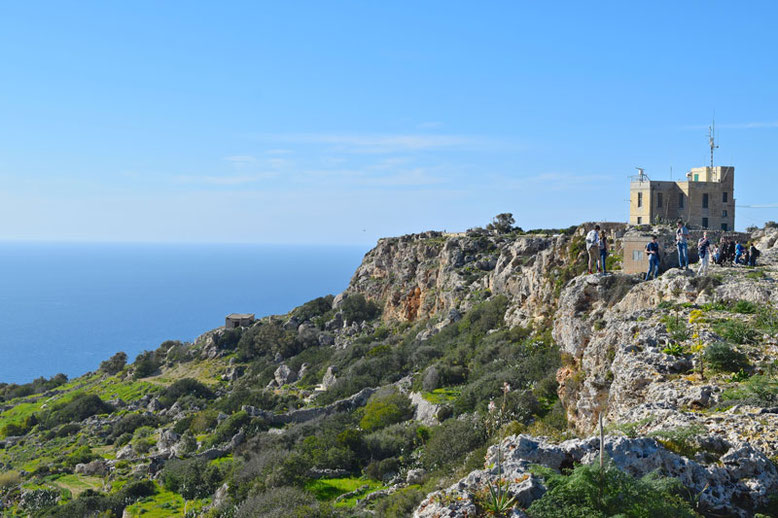 3 Days in Malta - Winter Break - Dingli Cliffs