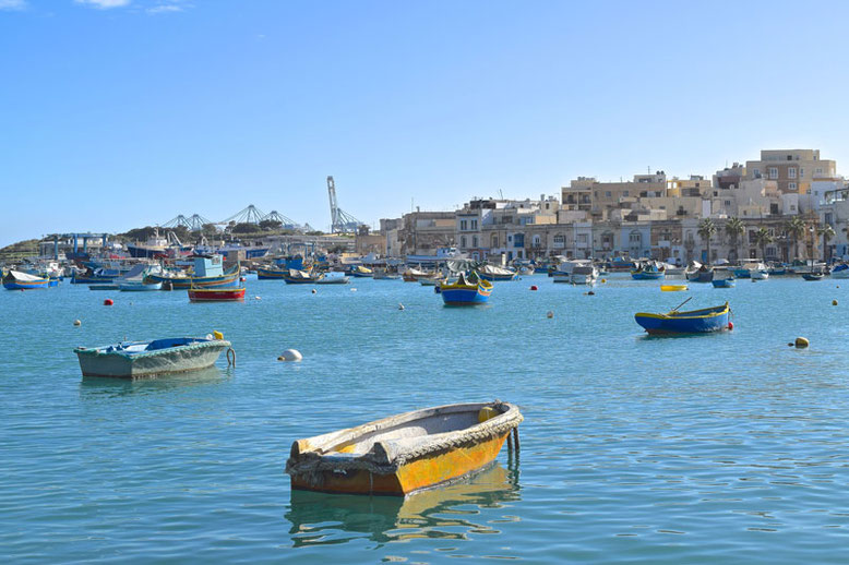 3 Days in Malta - Winter Break - Marsaxklokk