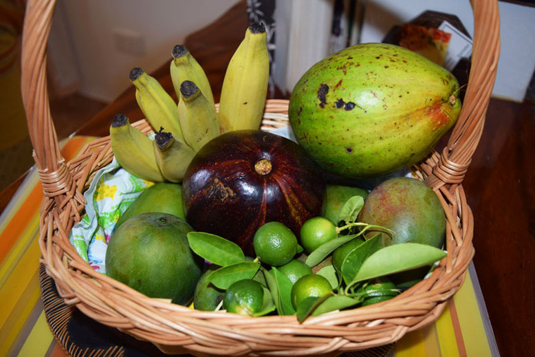 Best Place to Stay in the Seychelles - Fresh Fruits every Morning