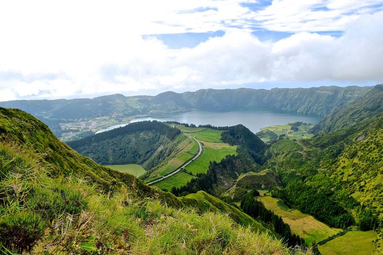 7 Tage Reiseplan - Sao Miguel, Azoren - Sete Cidades