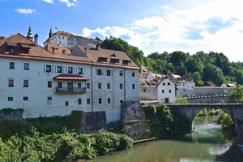 7 Tage in Slowenien, Reiseplan - Skofja Loka