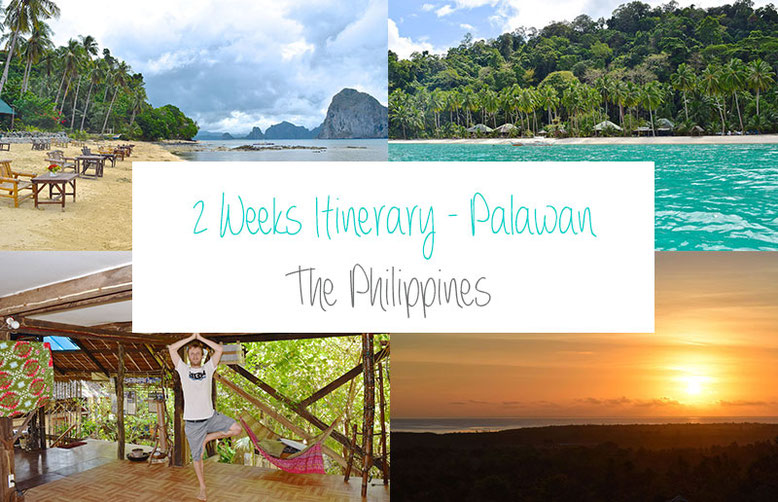 2 Weeks Itinerary Palawan - The Philippines