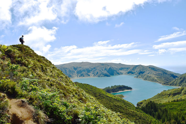 7 Tage Reiseplan - Sao Miguel, Azoren - Der Fogo See